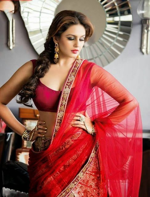 huma-qureshi-in-saree
