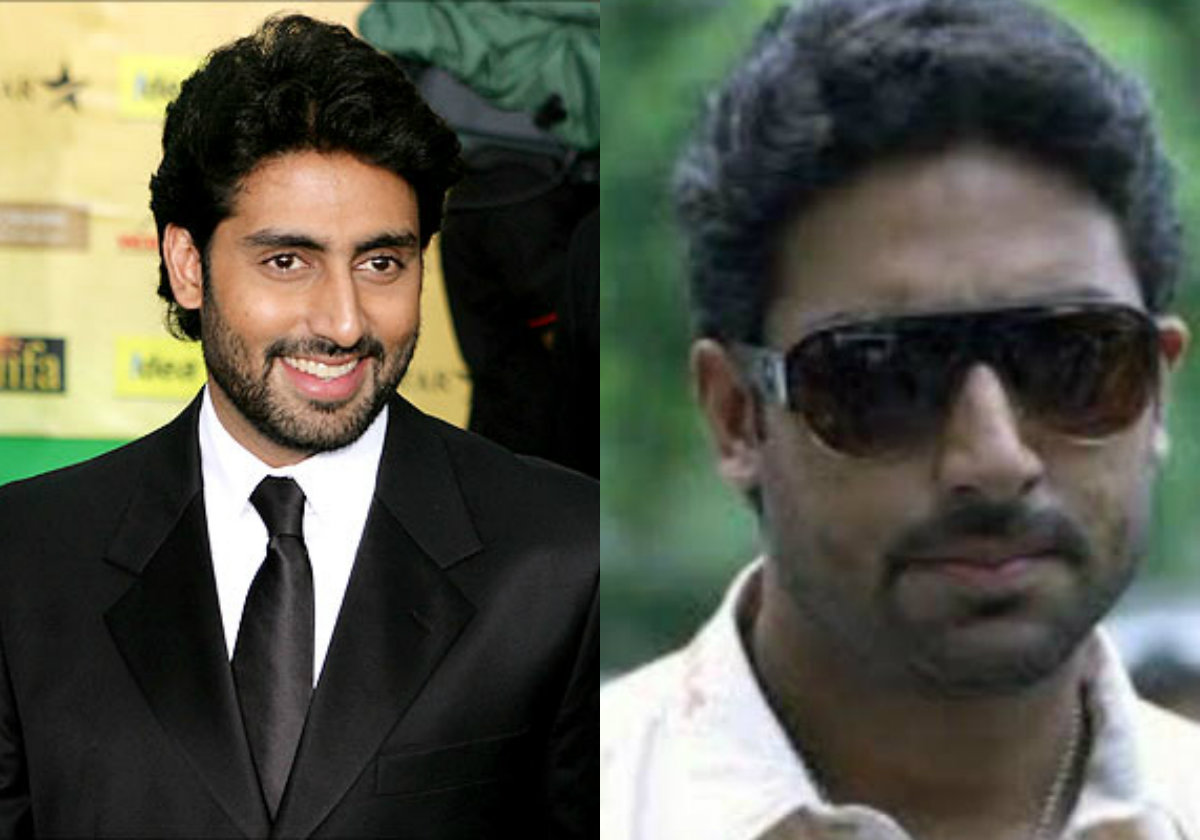 Bollywood Male Actors Without Makeup abhishek-bachchan