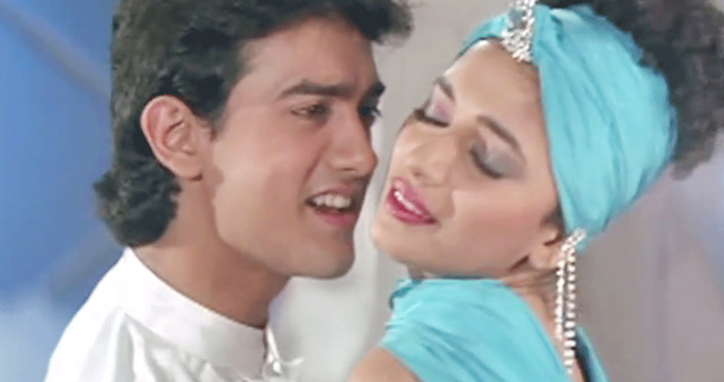 Bollywood Love Story Movies dil-1990