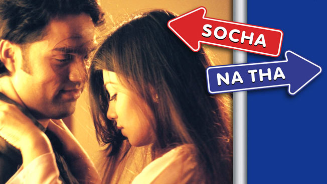 Bollywood Love Story Movies socha-na-tha