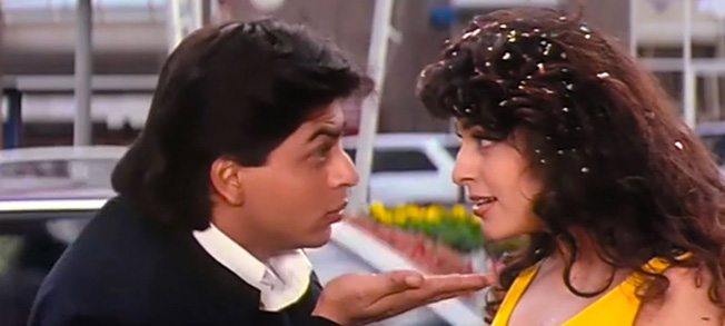 Bollywood Love Story Movies yes-boss-1997