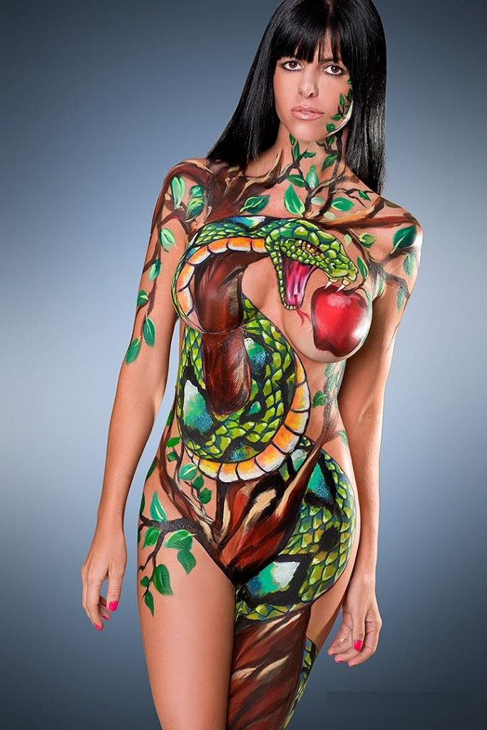 Top 20 Nude Body Paint Picture With Great Ideas - Sexy